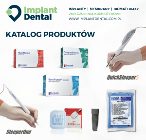 Pobierz najnowszy katalog produktów w ofercie Implant Dental